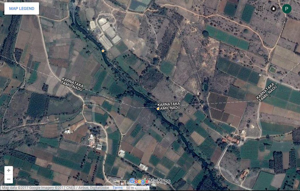 Then Pennai Karnataka Tamil Nadu Border.JPG